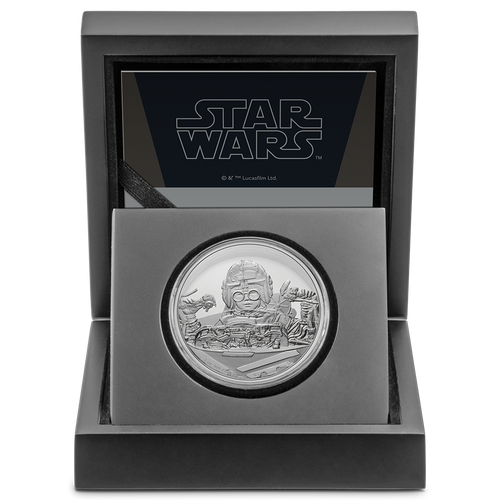 Star Wars Classic: Anakin Skywalker™ 1oz Silver Coin in Display Packaging