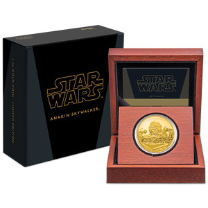 Star Wars Classic: Anakin Skywalker™ 1oz Gold Coin