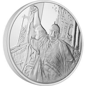 HARRY POTTER™ Classic - Lord Voldemort 1oz Silver Coin