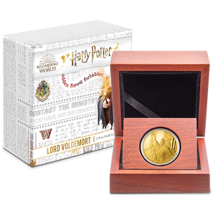 HARRY POTTER™ Classic - Lord Voldemort ¼oz Gold Coin