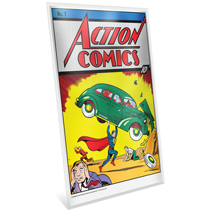 Action Comics #1 35g Pure Silver Foil