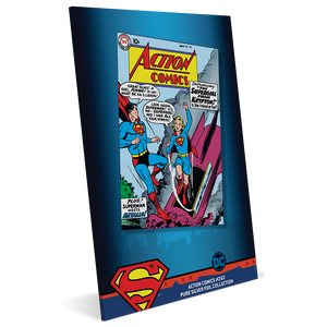 Action Comics #252 35g Pure Silver Foil Packaging