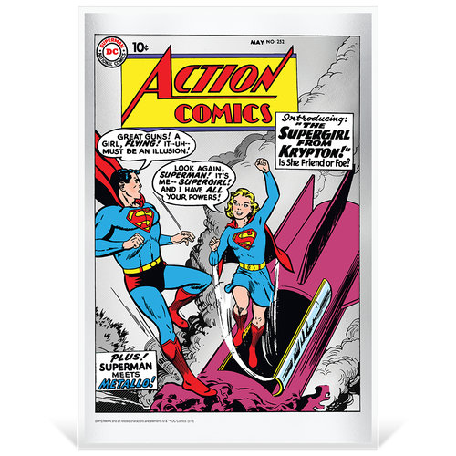 Action Comics #252 35g Pure Silver Foil