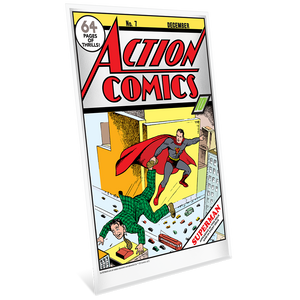 DC Comics – Action Comics #7 35g Pure Silver Foil | NZ Mint