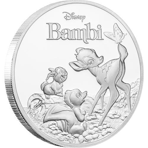 Bambi 75th Anniversary 1oz Silver Coin