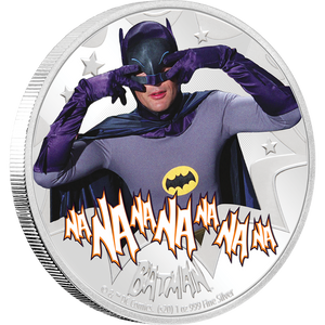 BATMAN™' 66 - BATMAN 1oz Silver Coin
