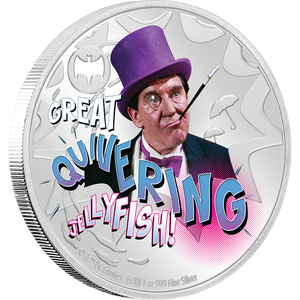 BATMAN™'66 - THE PENGUIN 1oz Silver Coin