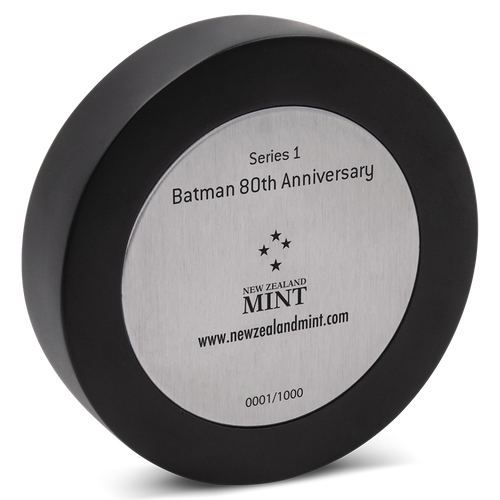 BATMAN™'s 80th Anniversary 235g Silver Miniature Base