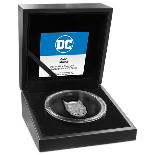 DC Comics – BATMAN™ 2oz Silver Coin Inner Packaging