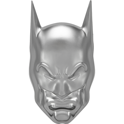 DC Comics – BATMAN™ 2oz Silver Coin Front View