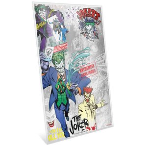 BATMAN™ Villains - THE JOKER™ 5g Silver Coin Note