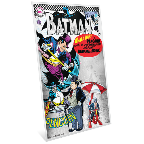 BATMAN™ Villains - THE PENGUIN™ 5g Silver Coin Note