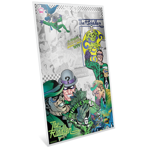 BATMAN™ Villains - THE RIDDLER™ 5g Silver Coin Note