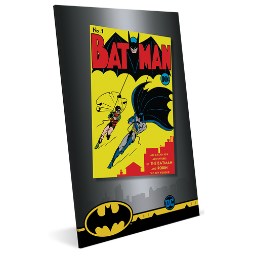 BATMAN™ #1 35g Pure Silver Foil Packaging
