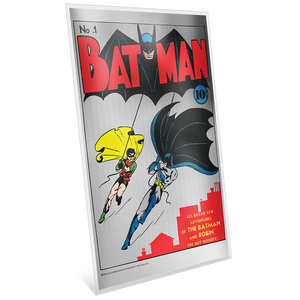 BATMAN™ #1 35g Pure Silver Foil