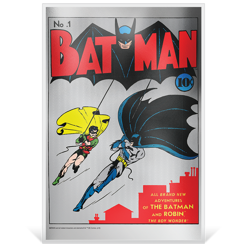 BATMAN™ #1 35g Pure Silver Foil Base