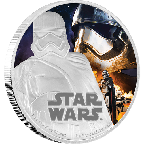 Star Wars: The Force Awakens - Captain Phasma™ 1oz Silver Coin