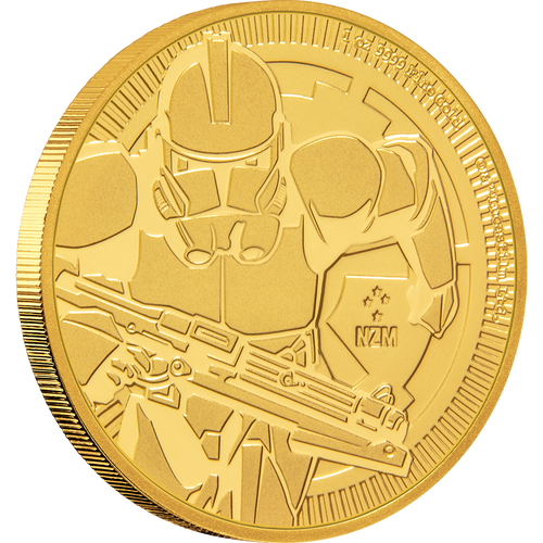 1oz Gold Bullion Coin Star Wars Clone Trooper™ 2019