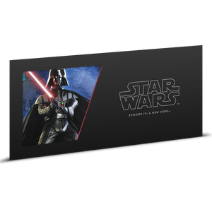 Star Wars: A New Hope - Darth Vader™ 5g Silver Coin Note Sleeve