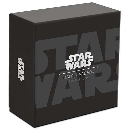 Star Wars Darth Vader™ Ultra High Relief 2oz Silver Coin Box