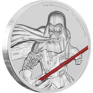 Star Wars Darth Vader™ Ultra High Relief 2oz Silver Coin