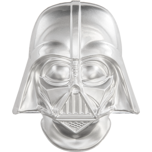 Star Wars Helmets: Darth Vader™ Helmet Ultra High Relief 2oz Silver Coin