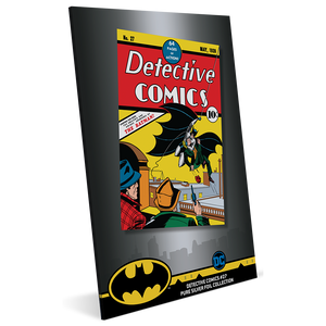 Detective Comics #27 35g Pure Silver Foil Packaging