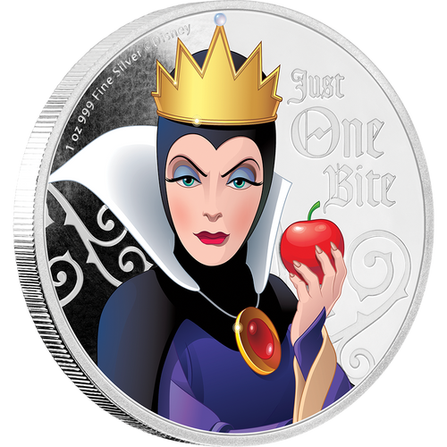 Disney Villains - Evil Queen 1oz Silver Coin