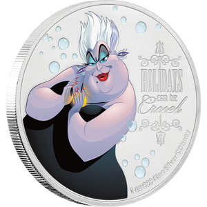 Disney Villains - Ursula 1oz Silver Coin