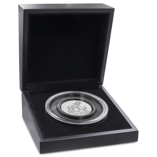 Donald Duck 85th Anniversary Ultra High Relief 2oz Silver Coin Display
