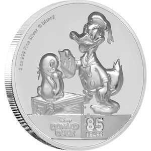 Donald Duck 85th Anniversary Ultra High Relief 2oz Silver Coin