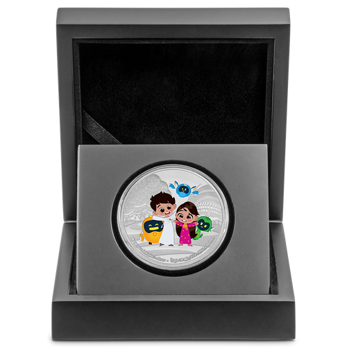 Expo 2020 Dubai – Mascots 40g Silver Medallion in Box