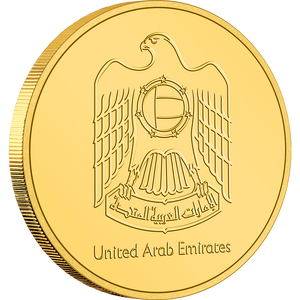 Expo 2020 Dubai – 20g Gold Coin Obverse United Arab Emirates