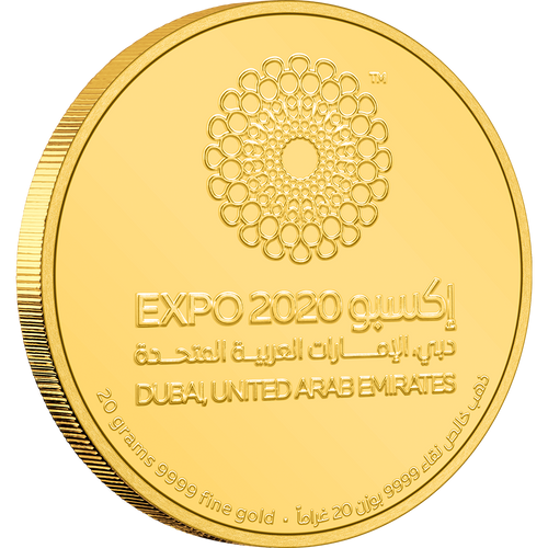 Expo 2020 Dubai – 20g Gold Coin | NZ Mint