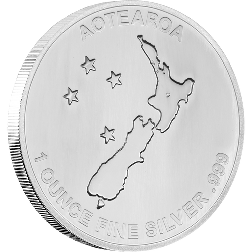 Silver Fern Obverse 999 | NZ MInt