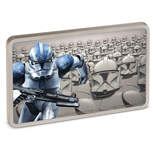 Star Wars: Guards Of The Empire - Clone Trooper™ 1oz Silver Coin