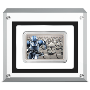 Guards Of The Empire - Clone Trooper™ 1oz Silver Coin