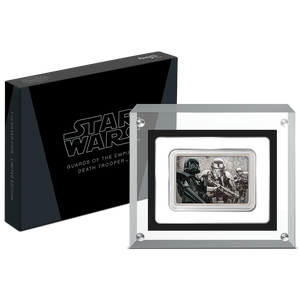 Star Wars: Guards of the Empire Death Trooper™ 1oz Silver Coin Packaging
