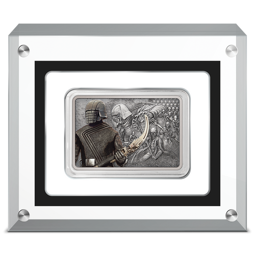 Star Wars: Guards of the Empire Knights of Ren™ 1oz Silver Coin in Perspex