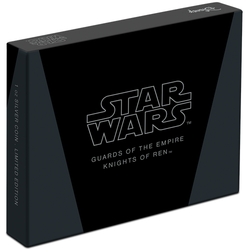 Star Wars: Guards of the Empire Knights of Ren™ 1oz Silver Coin Box