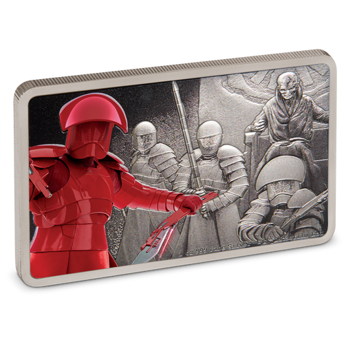 Star Wars: Guards of the Empire - Praetorian Guard™ 1oz Silver Coin Front