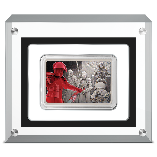 Star Wars: Guards of the Empire - Praetorian Guard™ 1oz Silver Coin in Perspex Case