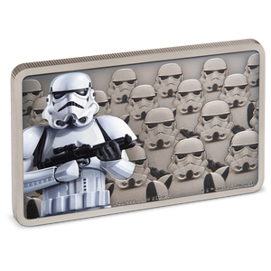 Star Wars: Guards Of The Empire - Stormtrooper™ 1oz Silver Coin