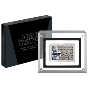 Star Wars: Guards Of The Empire - Stormtrooper™ 1oz Silver Coin Packaging