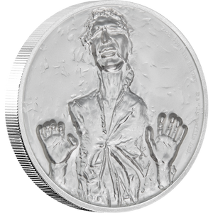 Star Wars: Han Solo™ Ultra High Relief 2oz Silver Coin