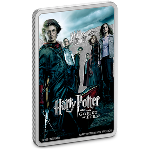 HARRY POTTER™ Movie Poster - Harry Potter and the Goblet of Fire™ 1oz Silver Coin NZ Mint