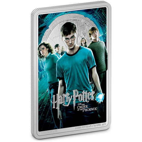 HARRY POTTER™ Movie Poster - Harry Potter and the Order of the Phoenix™ 1oz Silver Coin | NZ Mint