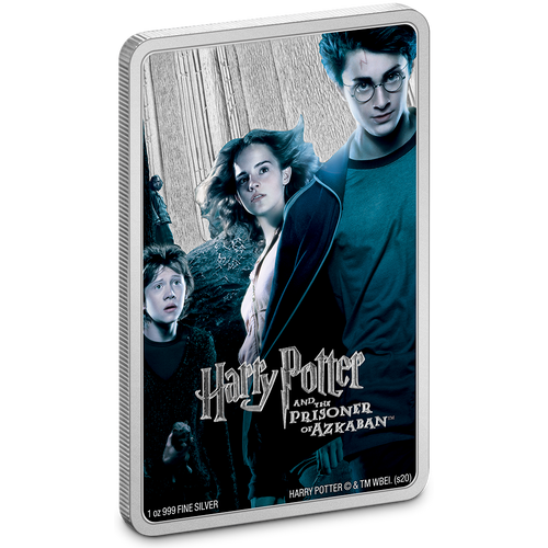 HARRY POTTER Classic Poster- Prisoner of Azkaban 1oz Silver Coin | NZ Mint