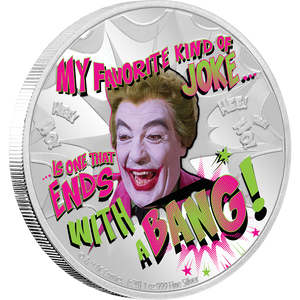 BATMAN™ '66 - THE JOKER™ 1oz Silver Coin