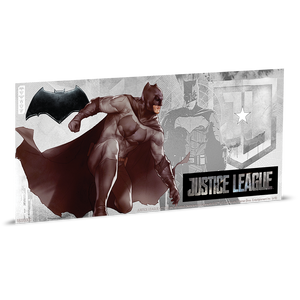 Justice League Series - BATMAN™ 5g Silver Coin Note